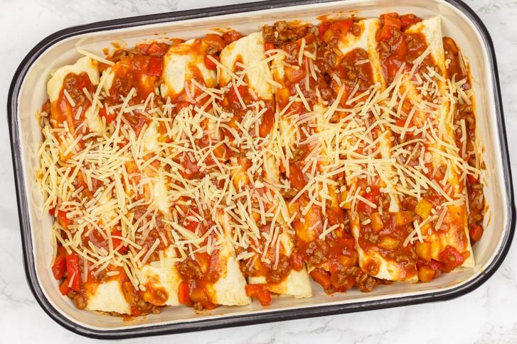 Enchiladas recept gehakt