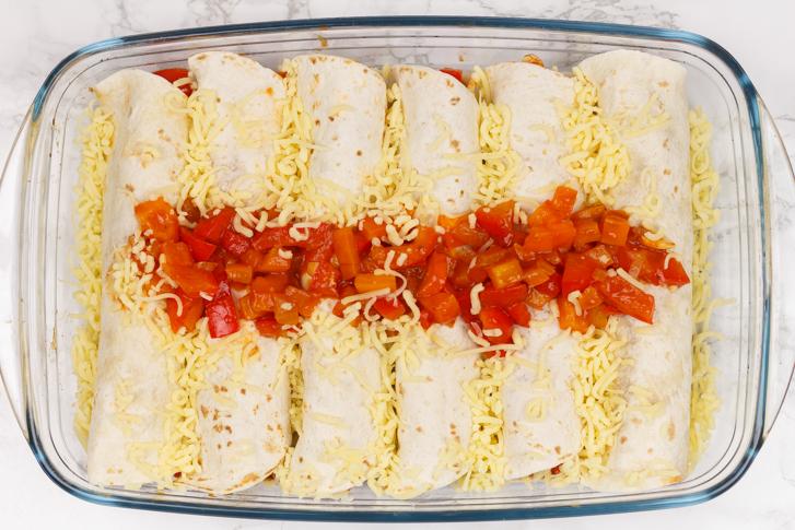 Enchiladas maken