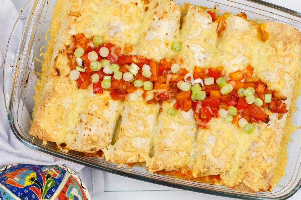 Enchiladas met kip