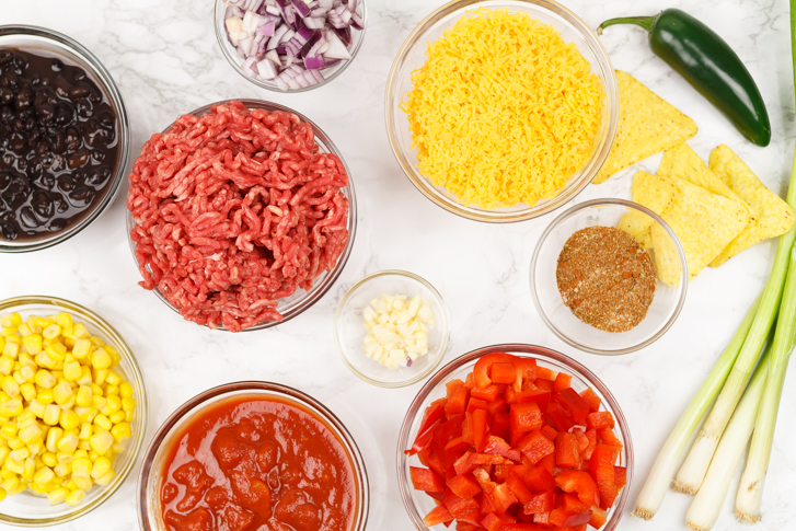 Nacho ovenschotel recept
