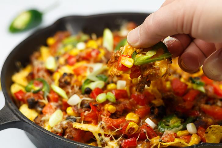 Mexicaanse ovenschotel met gehakt