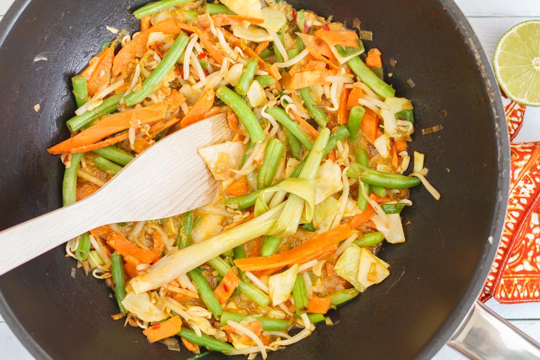 Sambal goreng groenten