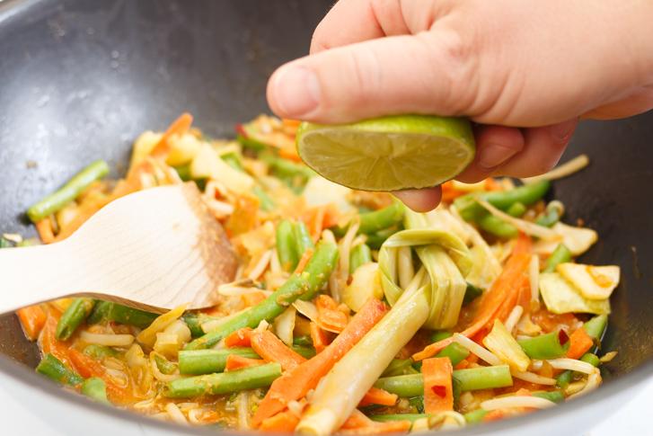 Indisch groentegerecht
