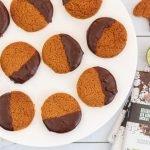 Limoenkoekjes met chocolade