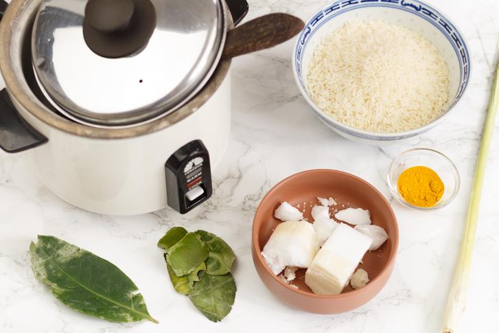 Nasi kuning recept