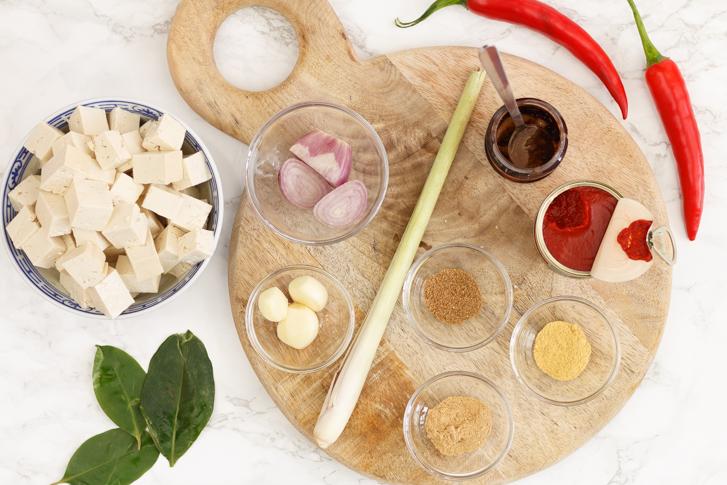 Sambal goreng tahoe ingrediënten