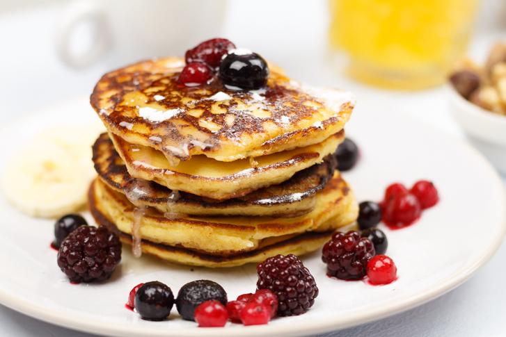 Low carb American pancakes