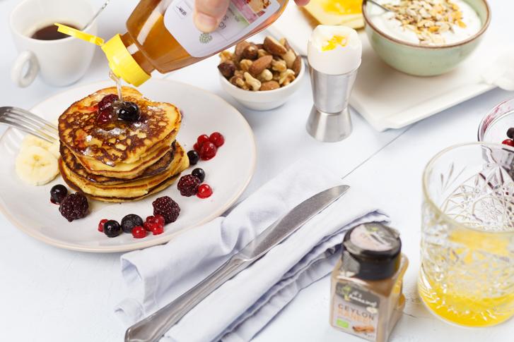 Glutenvrije American pancakes