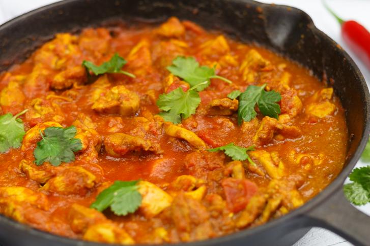 Kip madras recept