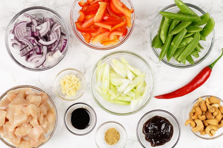 Kip siam ingrediënten