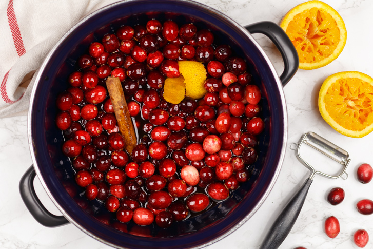 Cranberries koken