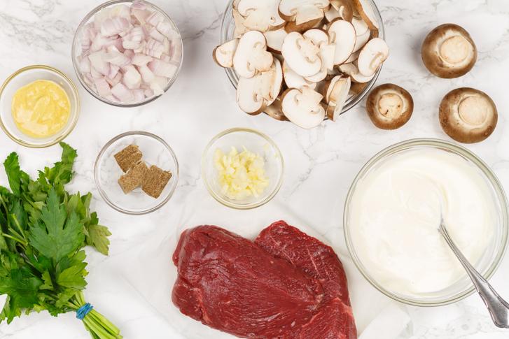 Beef Stroganoff recept