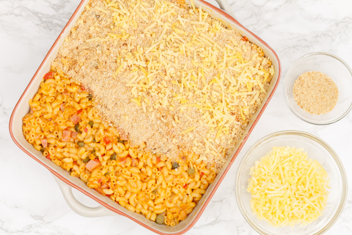Recept Indische macaroni ovenschotel