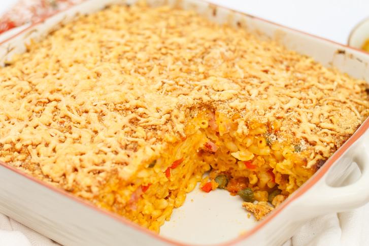 Macaroni uit de oven