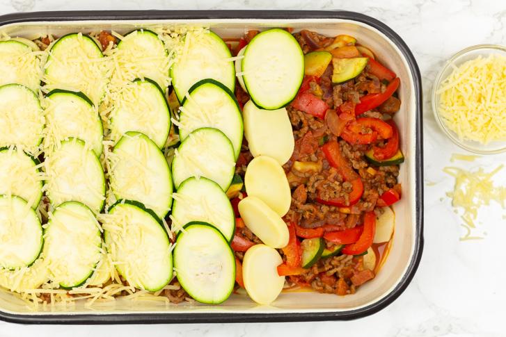 Aardappelschotel oven