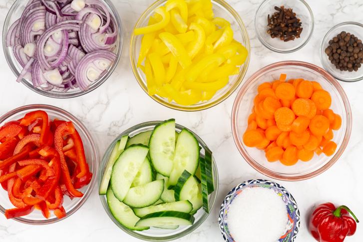Surinaams zuur ingrediënten