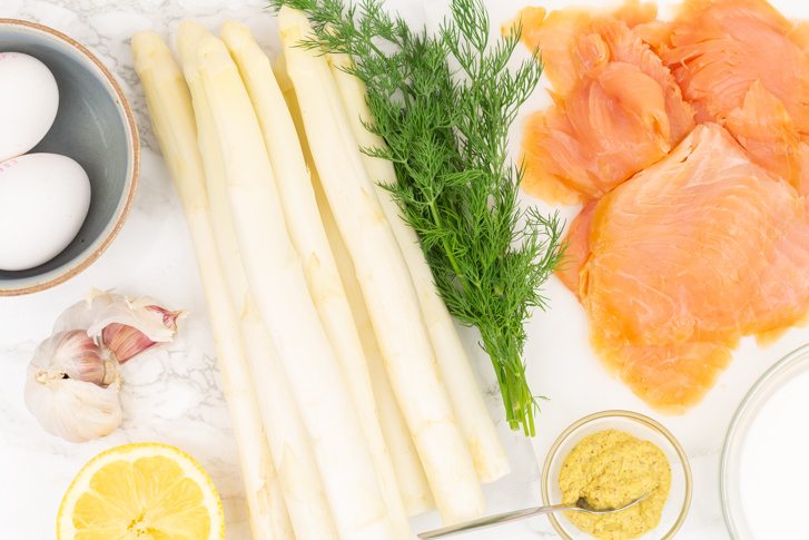 Witte asperges recept