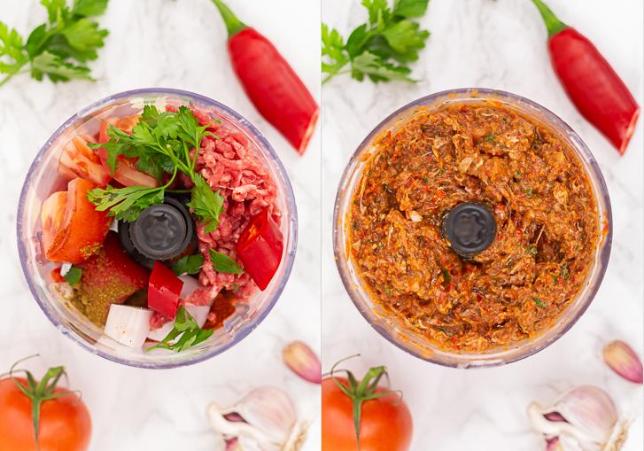 Turkse pizza saus